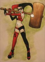 Harley Quinn - Hit it by Kit-Kat-Choco