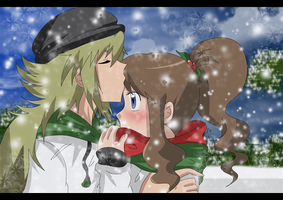 nANDwhite christmas time by hikariangelove