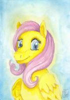 Simply Fluttershy by Sombraluz-Images