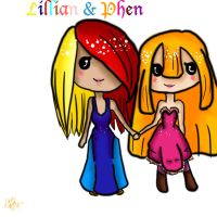 Lillian and Phen TEXT by pookalook