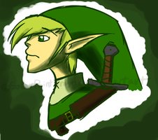 Link by SolarPaintDragon