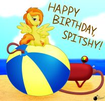 Birthday Blowout for Spitshy by GunpowderGreenTea