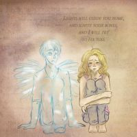 Tears stream down your face. by pokings