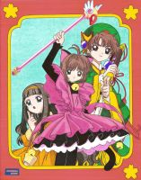 Card Captor Group by SharinganSasuke02