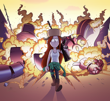 What if Michael Bay directed Gravity Falls by markmak