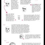 Face Drawing Tutorial by travelingpantscg