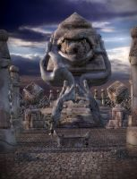 Temple of Arklops by OrestesGraphics