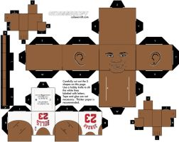 Micheal Jordan Cubeecraft by fedexmischa