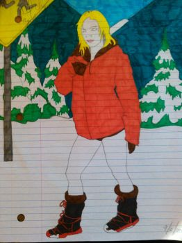 Cizzy as Kenny Mccormick (Color) by Chaos498