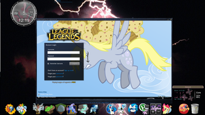 My Desktop augest by Ironwox