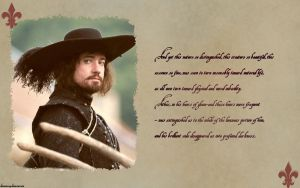 The Three Musketeers  - Athos by Katiexxx89