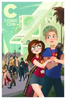 Comic Con Print- CUSTOM! by ECALA