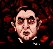 Bela Lugosi By Makinita by Makinita
