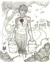 Rose Red from FABLES by AdamHughes