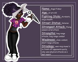 Pre-Teen Street Fighters: Angel Fisher by jazzy2cool