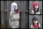 Assassin hoodie scarf - latest version by eitanya