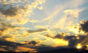 Lighted Clouds by TomBoy163