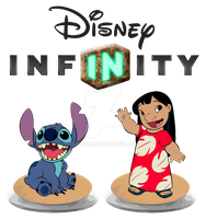 Disney Infinity :Lilo and Stitch playset idea: by Xelku9