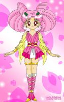 Goddess Chibi Moon Collab by YuniNaoki
