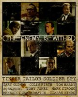 Tinker Tailor Soldier Spy Poster by Rosterlu