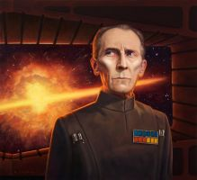 Grand Moff Tarkin by allendouglasstudio