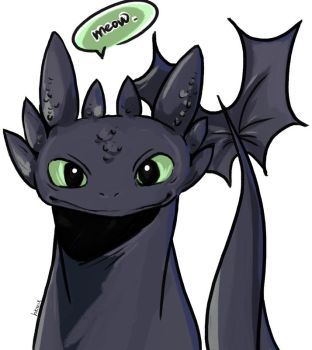 Toothless by hikariix