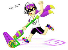 Booyah! (Purple Team) - Team collab entry by Lucariokm