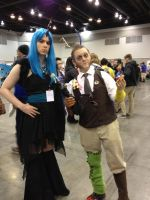 Discord and Chrysalis (FanExpo Vancouver 2014 Pic) by GingerBaribuu