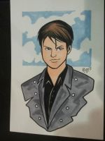 Wizard Philly 2013 Capt. Jack Harkness by RichBernatovech
