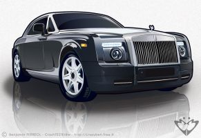 Rolls Royce Phantom by BenFerreol