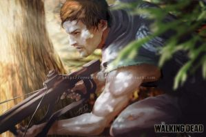 Daryl Dixon by Overweight-Cat