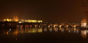 Prague at nite by Suppi-lu-liuma
