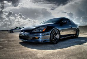Honda, Mazda, HDR by Johnny23xx