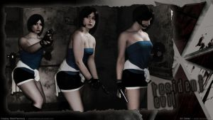 BlackPatchouly As Jill Valentine by Deltarr
