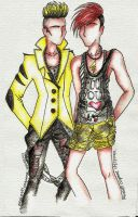 Pikachu High Street Fashion by AlirizaDesign