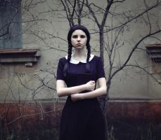 Wednesday Addams III by lightlanaskywalker