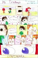 Thomarie Love Comic-Mi Trabajo by EmiWasHereEV