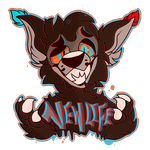 New Life-  Con badge by Choco-Floof