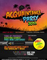JITS Acquaintance Party 2011 by skyrider2000
