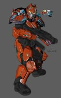 Tribes Ascend WIP Soldier by ShockyTheGreat