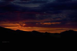 Sunset over the Rockies by Enigma-Fotos