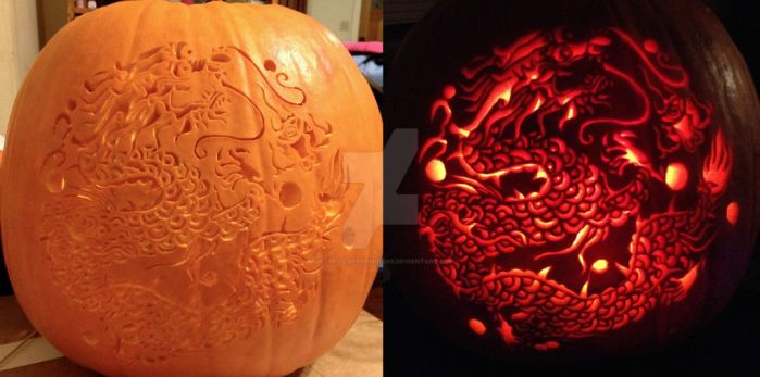 Pumpkin carving 2012 by shinobitokobot