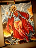 Supergirl got colors by pant