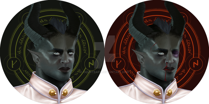Inquisitor Adaar icon by countbars