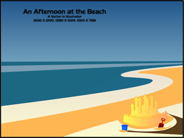 An Afternoon at the Beach by amitsaraf32
