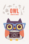 Owl Around The World by soinkah