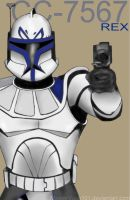 Captain Rex is a GUN by MasterVash101