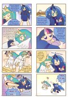 Humanized pony comic 3 ,4 by HowXu