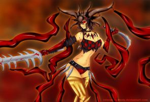 Exava, Rakdos Blood Witch by crimson-grizzly