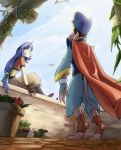 Puck and Eiko: Rooftop by Crispy-Gypsy